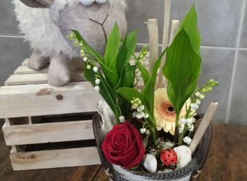 Muguet et fleurs